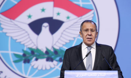 Constitutional board developed at Syrian congress in Sochi– Lavrov – TASS