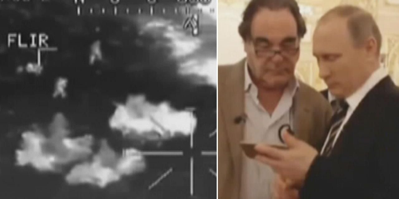 Did Putin program Oliver Stone a phony video clip? Director might have been deceived by Russian head of state