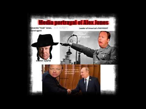 """Alex Jones """"admits"""" Trump benefits Putin"""