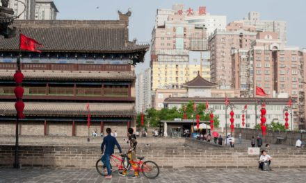 In old city of Xi' an, China intends to reboot the Silk roadway