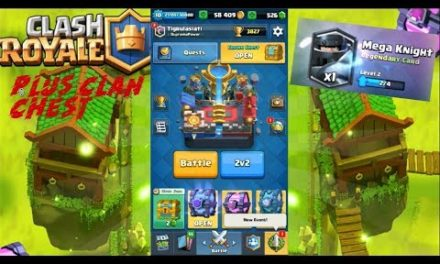 Clash Royale – Chest Opening Mare (Incaputin si fac Mega Knight de lv. 3)