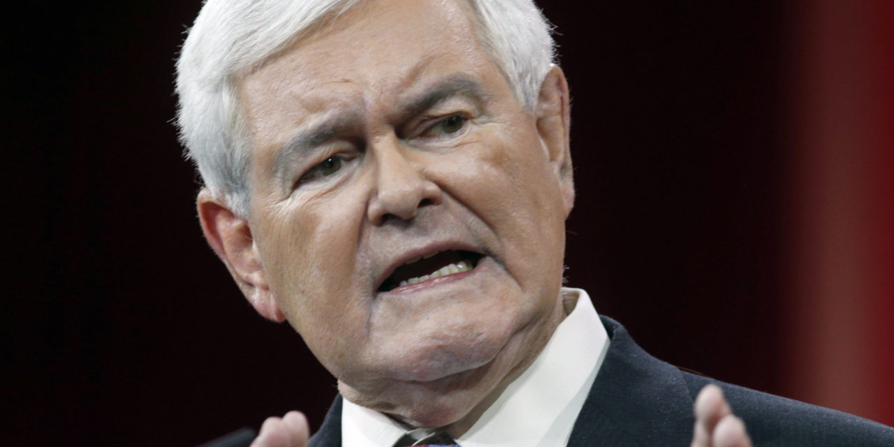 Newt Gingrich Says Donald Trump Has 'Compulsion' To Counterattack