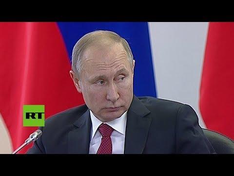 Vlad ímir Putin confiesa que no u.s.a 'mobile phone' [SUBTITULADO]
