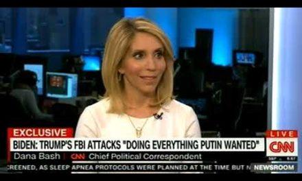 "BIDEN: TRUMP'S FBI ATTACKS"" DOING EVERYTHING PUTIN WANTED"" ON CNN NEWS"