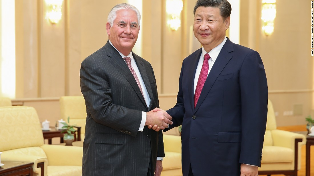 China gets in touch with United States to 'desert its bias' after Tillerson rebuke