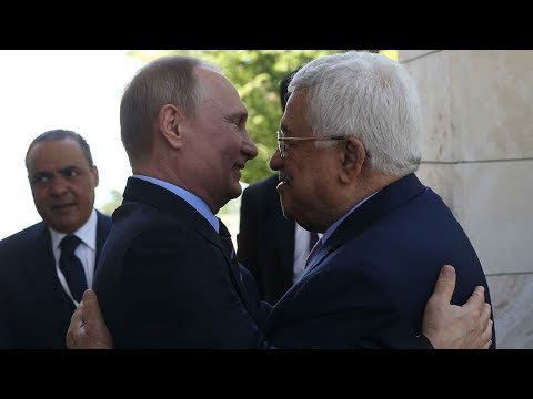 Palestine's head of state visit Russia to protect Putin's assistance