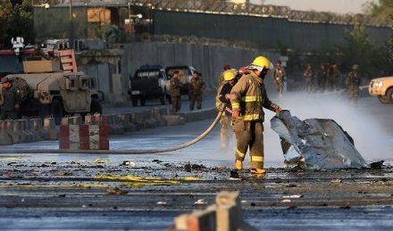 Third bomb ten-strikes Kabul, Afghanistan