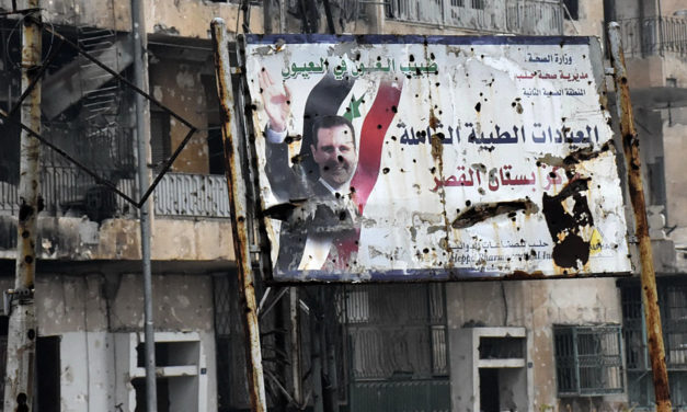 As He Massacre Civilians In Aleppo, Assad Prepares To Make Nice With Trump