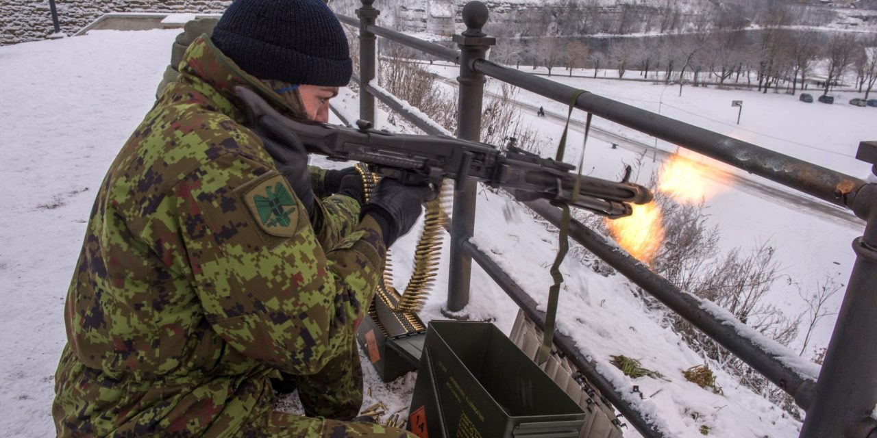 As Putin Looms And Trump Withdraws, Estonia Is Developing Civilians To Fight