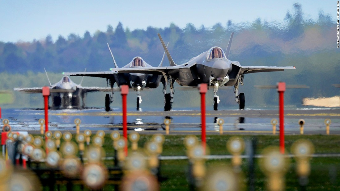 United States sends out most recent F-3 5 stealth competitors to Europe
