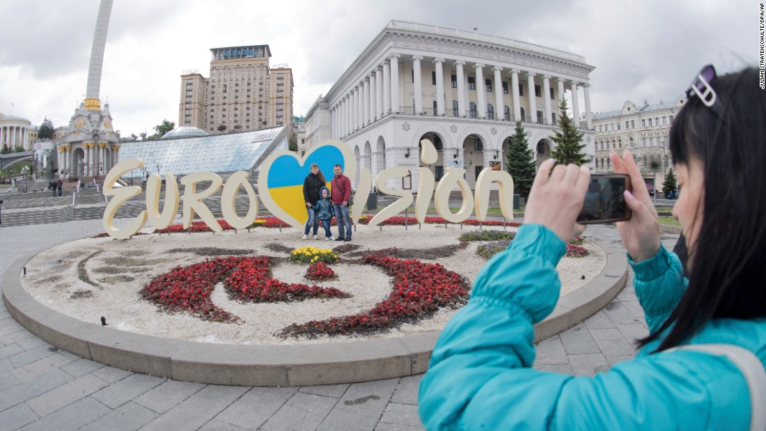 Eurovision's flashy contest containers with hurting of Ukraine problem