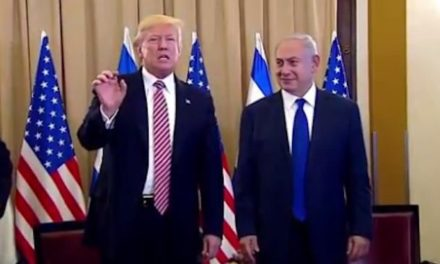 Trump Makes Painfully Awkward Statement In Israel About Russia Meeting