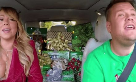 This EPIC Holiday Version apropos of' Carpool Karaoke' Is one Gift To front Internet