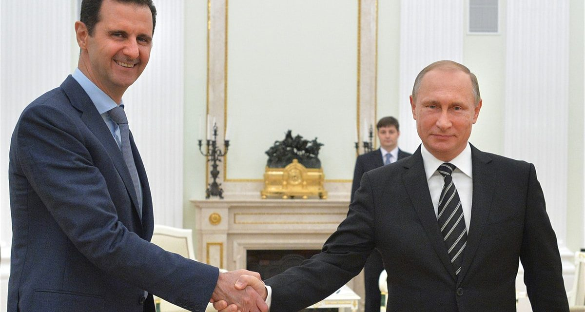 Putin hints that Russia may just accept base hospital en route to Assad
