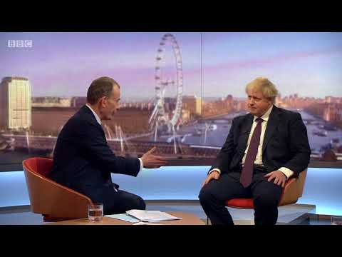 Boris Johnson – the route 'brings about the Kremlin'
