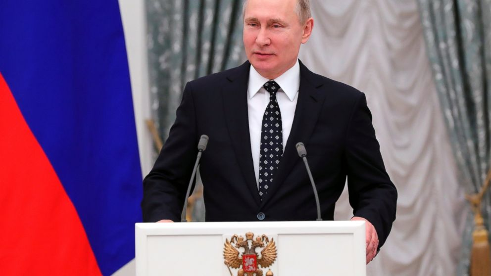 "Putin many thanks country for re-election, assures """" development"""" – ABC News"