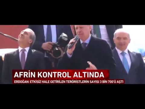 Erdo ğan' dan Münbiç Resti: Trump' la da Putin' le de Konu ştum. 'GeriAd ım Atmak Yok'!!