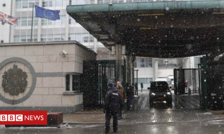 EU remembers Russia ambassador in snoop row