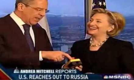 Hillary 'reset switch' Clinton advises that a Trump presidency would certainly be 'Christmasin the Kremlin'