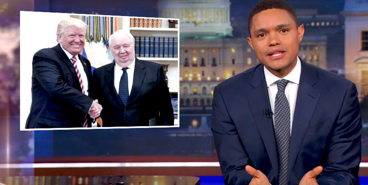 The Daily Show: President Trump Sad for Revealing Classified Intel to Impress Russian Officials