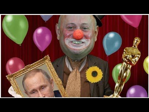Kremlin's clown in Canberra is worthy of an Oscar