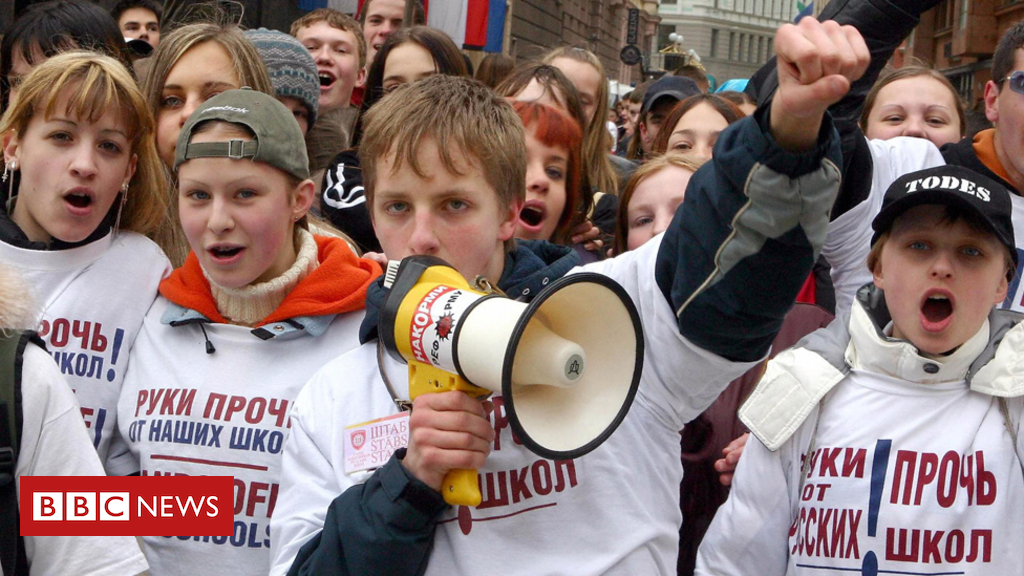 Russia imperils assents over Latvian speech in institutions – BBC News