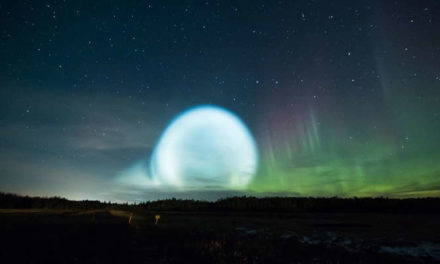 Strange Ball Of Light Seen Glowing In The Sky Above Siberia
