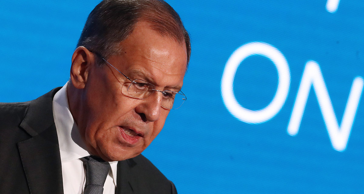 Lavrov informs Kiev's enrollers in United States, Europe conspire with warmongers – TASS