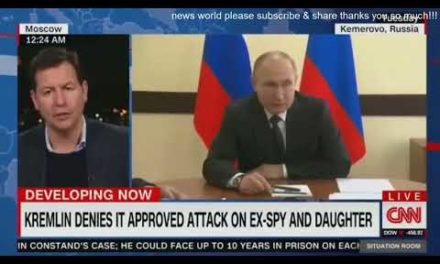DAMAGING NEWS KREMLIN DENIES IT APPROVED ATTACK ON EX-SPOUSE SPY AND DAUGHTER CNN NEWS