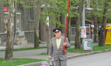 Victory Day in Nikolaev, Ukraine