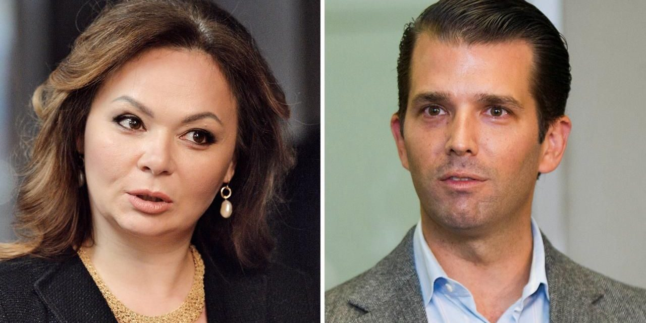 Donald TrumpJr launches 'whole e-mail chain' taking into consideration Russian session