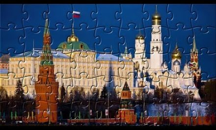 Moscow Kremlin Promenade Church Temple Puzzle!