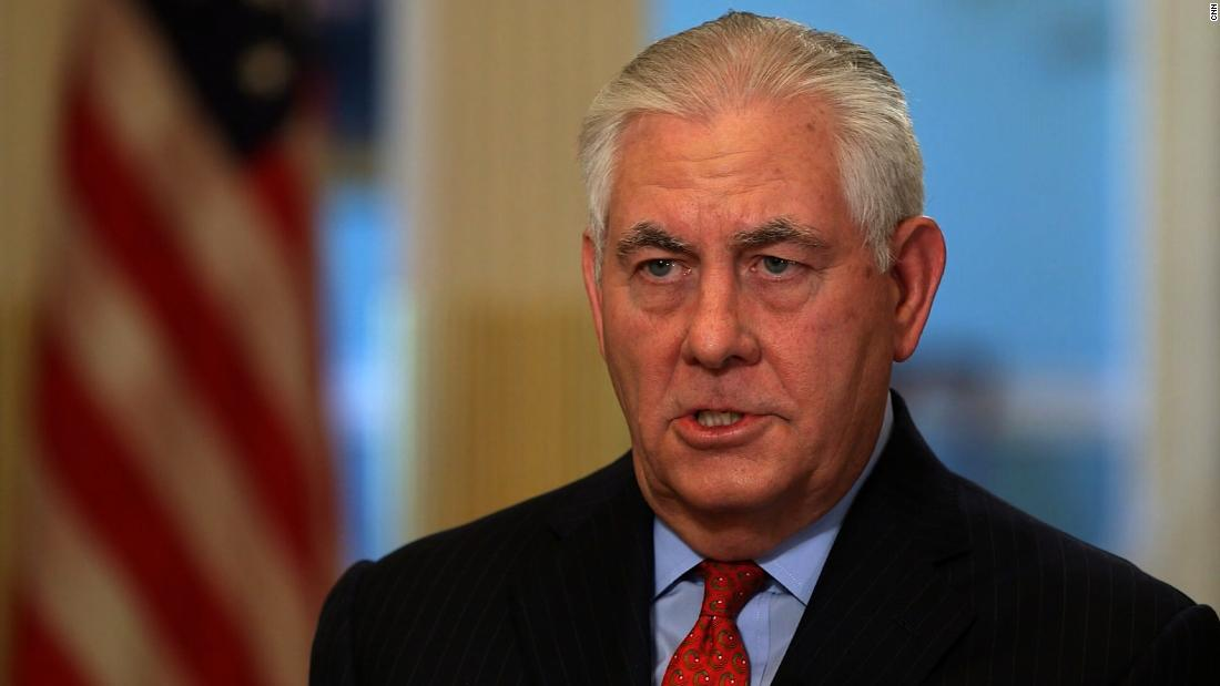 Transcript: CNN's unique appraisal added to Rex Tillerson