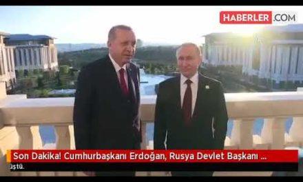 Son Dakika! Cumhurba şkanı Erdo ğan, Rusya Devlet Ba şkanı Putin ile Suriye' yi Görüştü …SonHaber