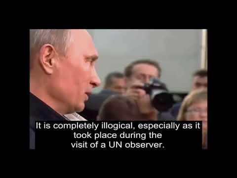 'Crockof crap' states Putin