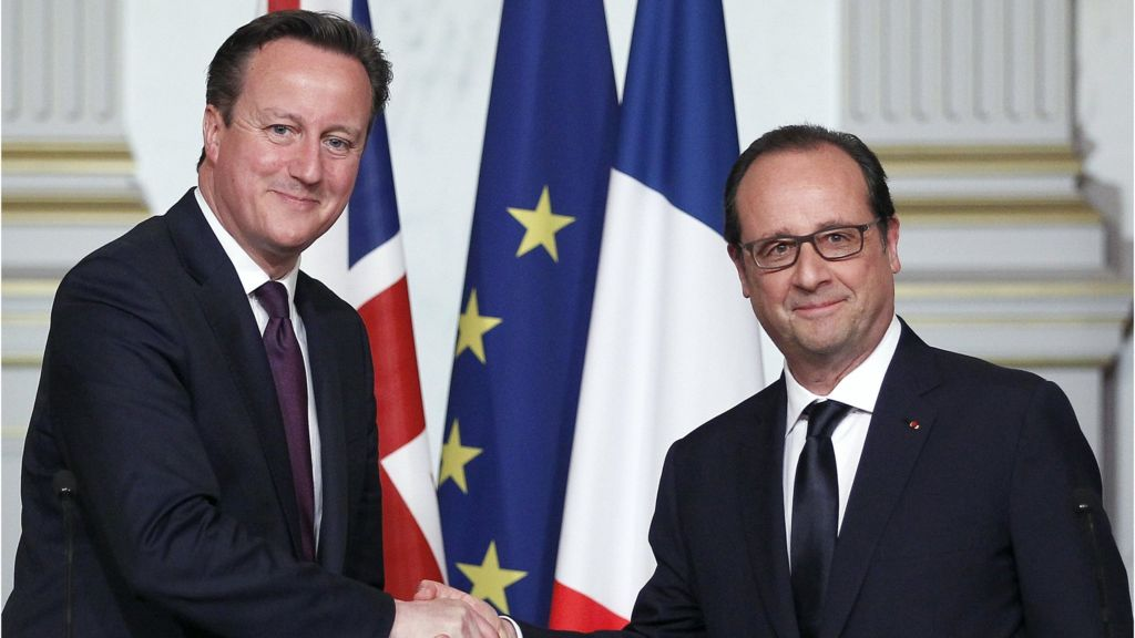 Paris assaults: David Cameron to fulfill Francois Hollande – BBC News