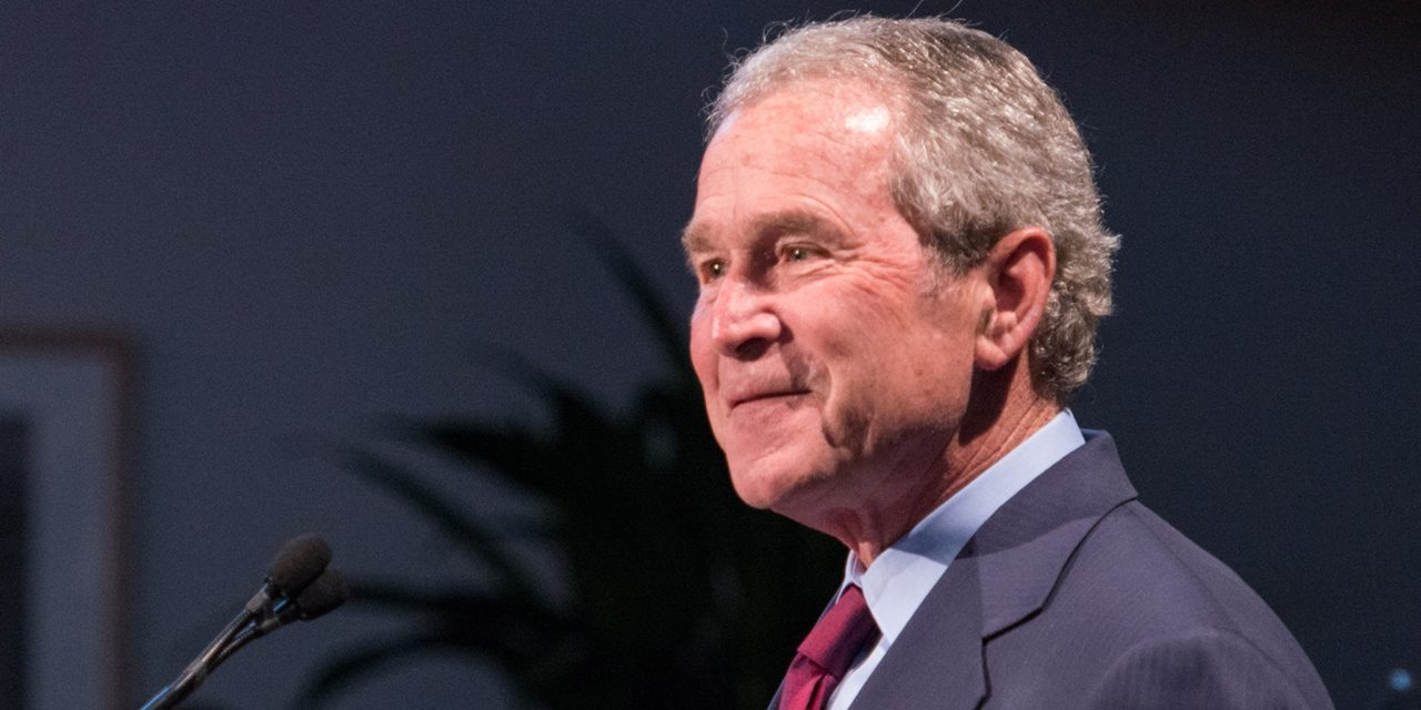 George W. Bush Breaks With Trump on Russian Meddling, DACA