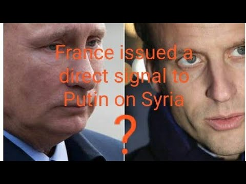 France issued a right away sign en route to Putin accidental Syria