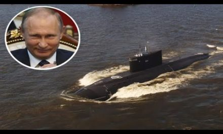Deadly Kremlin submarines CHASE UK battleship as Putin releases 'BlackHole' stealth seekers