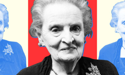 Madeleine Albright Knows Fascism When She Watches It