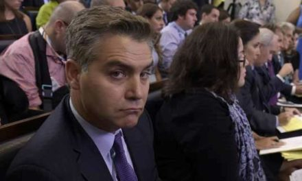 Five days after being reduced down to dimension by Stephen Miller, Jim Acosta still participated in determining competition