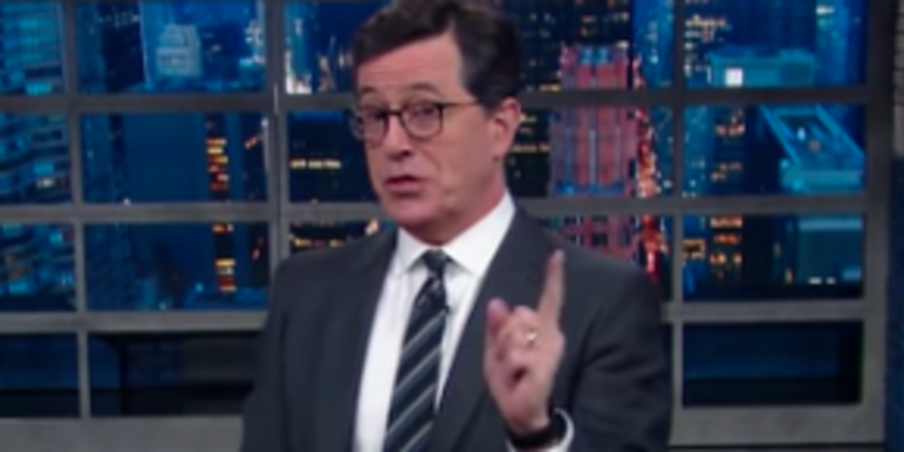 Stephen Colbert: Vladimir Putin's Reported Reason For Russia Hacking The Election Is 'Lame'