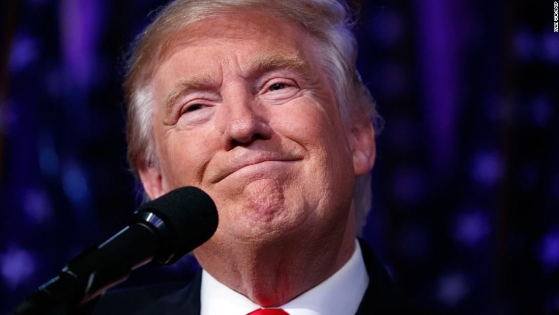Liberals, relax around Trump triumph