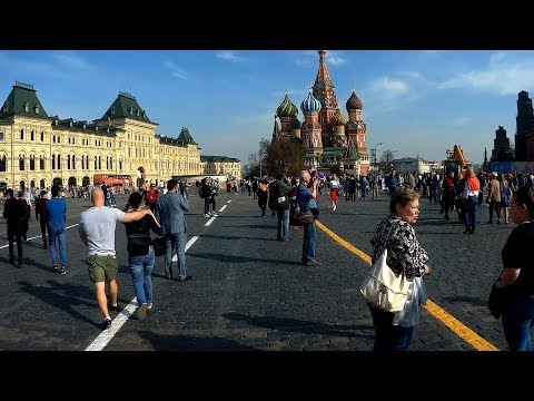 Moscow Cycling – May 1-st, 2018, Kremlin, etc (component 1)
