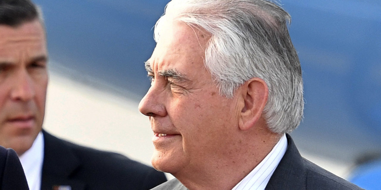 Rex Tillerson Will Get A Colder Russian Reception Than He's Utilized To