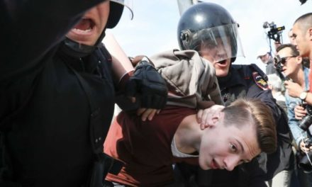 350 Russians incarcerated in anti-Putinobjections in advance of governmental commencement – ABC Online
