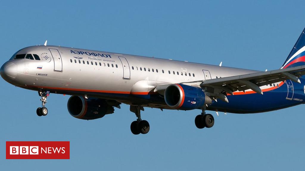 Aeroflot plane in deepening Russia-UK row