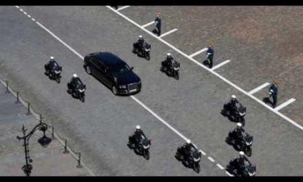Si êu xe tuyệt đỉnh của Tổng thống Nga Putin lộ diện