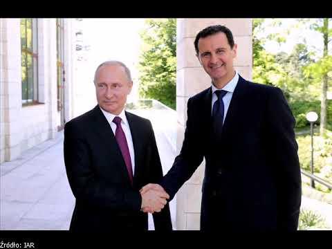 """Putin przewiduje """" wycofanie obcych sił zbrojnych z Syrii"""""""