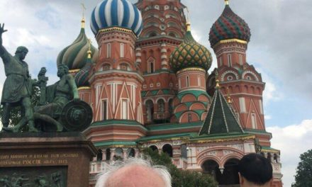 Harold brows through Moscow on the very first web page of r/ images